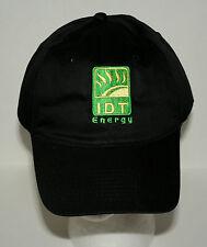 IDT Energy Company LogoTrucker Baseball Cap Hat New Unused OSFM