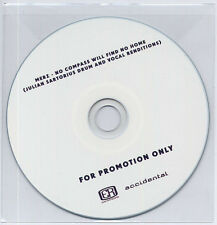 MERZ No Compass Will Find No Home UK 10-trk promo test CD Julian Sartorius