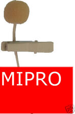SKIN Tie clip lapel lavalier microphone for Mipro #AN