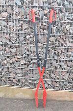 Handbagger - Lochspaten - Erdlochausheber - Größe 2 - Stahlrohrstiel - Erdkralle
