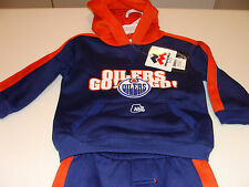 Edmonton Oilers NHL Hockey Age 2 Team Kids Child 2 Pc Hoodie Pants Duo Set
