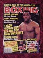 BOXING Scene magazine May 1993 Mike Tyson Roy Jones George Foreman