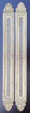Plaques de Propreté Ajourées de Losanges 55 cm Empire Restauration Fleurettes