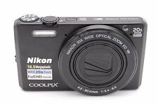 Nikon Coolpix S7000 16MP 3''Screen 20x Zoom Digital Camera BLACK