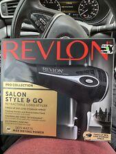 Revlon 1875w Tourmaline Ionic Ceramic Blow Dryer New - open Box Salon Style Go