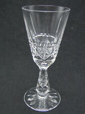 Waterford Kylemore 5 3/8in Sherry Wine Glasses Clear Cut Crystal