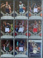 72 verschiedene Basketball -Jersey-Cards in einem Lot
