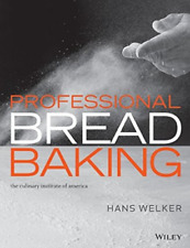 Welker-Professional Bread Baking (UK IMPORT) BOOKH NEW