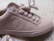 0e5f8e816 Gorgeous TOMMY HILFIGER Blush LEATHER Women s Size 7 Sneakers Walking Shoes