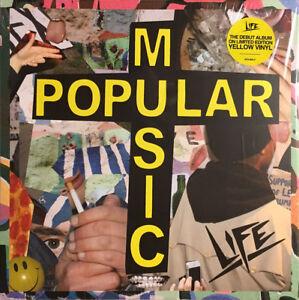 LIFE – Popular Music (Yellow Vinyl) AFG-003LPC