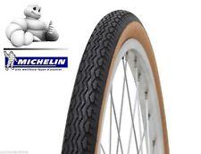 Pneu Michelin 650 1/2 Ballon 42B ZZ Beige/noir 650B 44-584 + chambre a air vélo