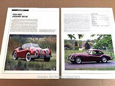 jaguar xk140 1954 1955 1956 1957 original car review print article j668