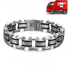 Men's Stainless Steel 316L Fashion Bracelet Wristband Bangle SP3133
