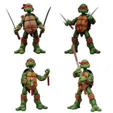4PCS TMNT Toys Collectible Teenage Mutant Ninja Turtles Figure Model