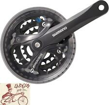 SHIMANO ACERA M361 170MM 28T/38T/48T BLACK 7/8-SPEED MTB SQUARE TAPER BIKE CRANK