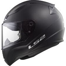 LS2 FF353 Rapid Solid Matt Black Motorbike Bike Helmet Plain Motorcycle Vented