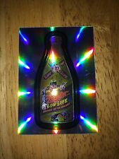 2014 WACKY PACKAGES CHROME REFRACTOR CARD MULLER MILLER HIGH LOW LIFE BEER 23