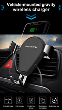 Qi Gravity Wireless Cradle Charger Universal Vent