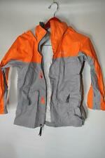 Marmot Boy's Lightweight Jacket Nylon Rain Coat Orange Grey Size Small H50900