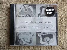 Master/Slave Relationship – Music For A Sadomasochistic Scene - CD