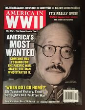 America In World War 2 Most Wanted Japan Surrender October 2015 FREE SHIPPING!