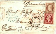 FRANCE Cover Paris GB IRELAND County Galway *Athenry* 1855{samwells}LS196