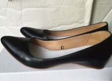 RARE! Martin Margiela For H&M Lost Heel Flat Black leather Pumps 39 6