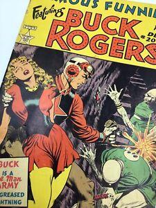Vintage Frank Frazetta 1953 BUCK ROGERS Famous Funnies Dec. #209 Comic Book