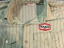 Vintage Texaco oil company shirt.employee advertising texaco