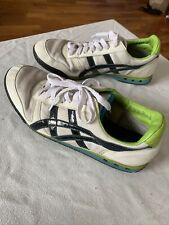 EUC Asics onitsuka tiger green lime white black shoes sneakers men's 9 EU 42.5