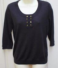 JAEGER brown 100% wool jumper / top size M