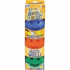 2 PACKS(6PADS)Scratch Free Scrub Daddy Colors Texture Scrubber Cleaning Tool New