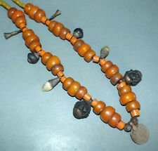 Beads Different Amulet Pendants Nepal Necklace with Natural Resin and Glass