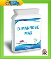 D Mannose 90 Capsules Supports Healthy Urinary Tract Cystitis Relief UTI Bladder