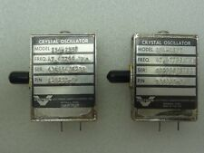 Lot of 2 Vectron Model: 254-2357 Crystal Oscillators P/N: 129235-3 47.47799 MHz