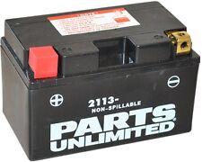 Parts Unlimited AGM Maintenance-Free Battery 2006-2016 Yamaha YFM700 Raptor
