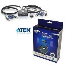 ATEN CS22U 2 Port USB Cable KVM Switch