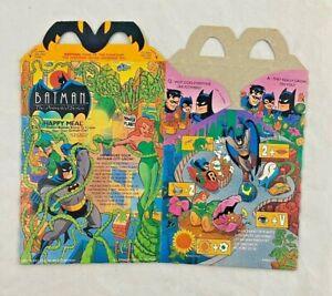 Vintage - McDonalds - Batman - Poison Ivy - Happy Meal Box - 1993 - Unused