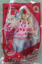 2014 McDonalds: AMERICAN GIRL #4: ISABELLE Lovely Lace Up -New, Sealed!