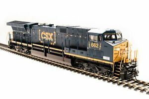 Broadway Limited 5684 HO CSX GE AC6000 with Sound #662 NIB