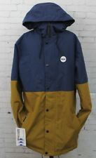 New 2017 Ride Mens Hawthorne Snowboard Jacket Small Brown Navy