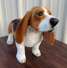 Melissa and Doug Large Standing Basset Hound Stuffed Plush Dog 26'' Long #4866