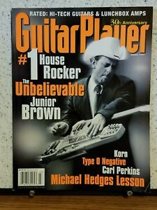 Guitar Player magazine, March 1997 - 30th ANNIVERSARY ISSUE
