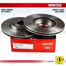 2X MINTEX FRONT DISC BRAKES MDC2681 BMW 2 F45 F46 MINI MINI F55 F56 F54 F57 F60