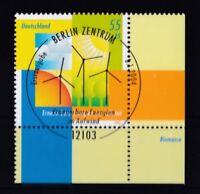 BRD 2004 gestempelt ESST Berlin Eckrand MiNr. 2378  Erneuerbare Energien
