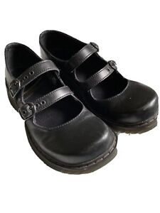 """Dr. Martens Mary Janes """"Candie"""" Black. US 8. UK 6."""