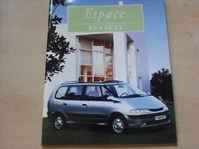 52383) Renault Espace JK Prospekt 11/1998