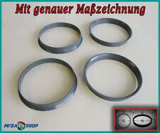 4x Zentrierringe 74,1 mm - 72,6 mm für BMW