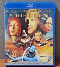 The Fifth Element - Blu-ray   Bruce Willis   LIKE NEW