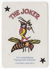 1 playing (swap) card - Joker - Bee rider [3203]